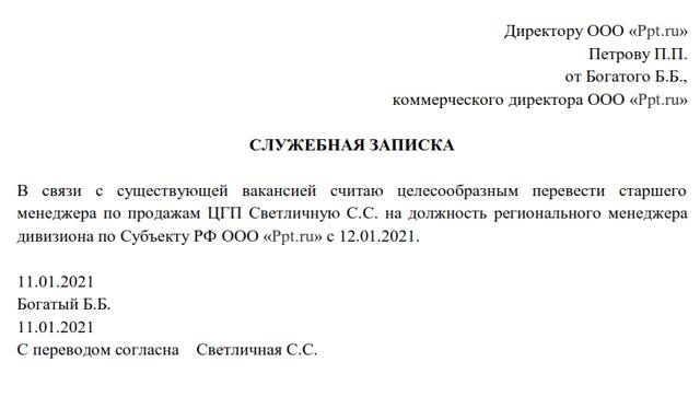 Перевод на другую должность трудовой договор или доп соглашение